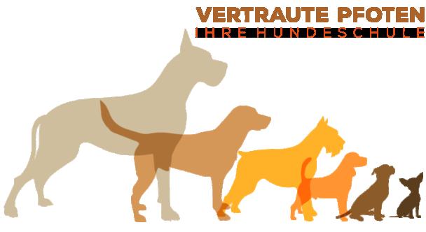 hunde, vertraute Pfoten, Logo